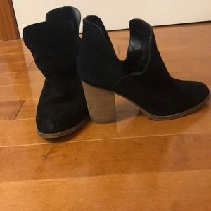 Also Suede Booties Size 7